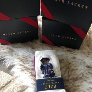 Polo Ralph Lauren Polo bear socks!